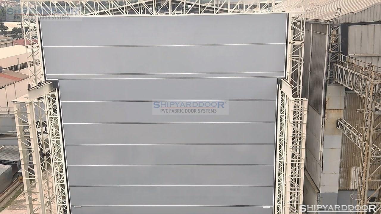 Crane doors en shipyarddoor f