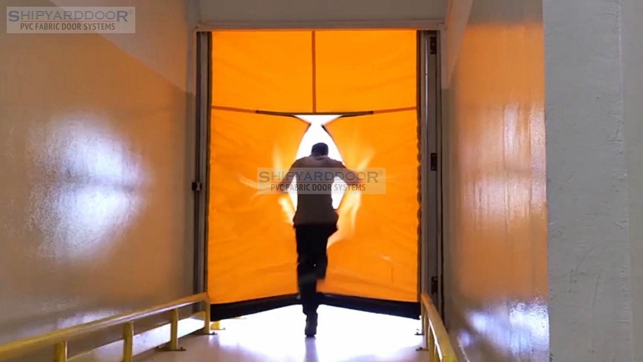 Emergency door en shipyarddoor f
