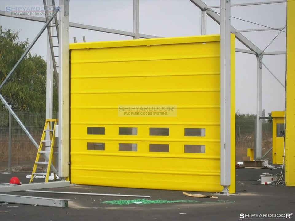 industrial door test en shipyarddoor