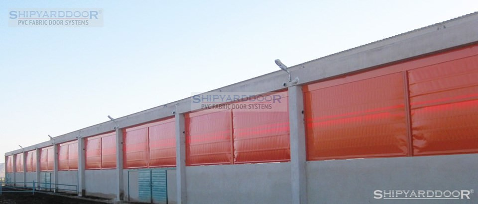 livestock curtain en shipyarddoor