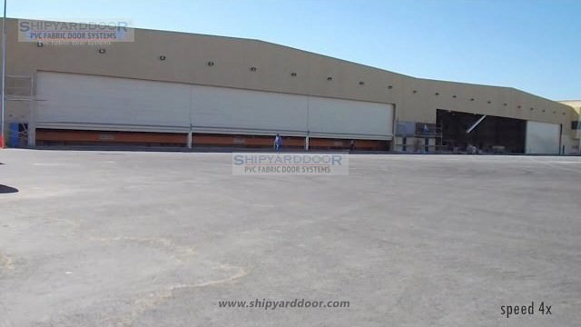 Aircraft hangar door en shipyarddoor f