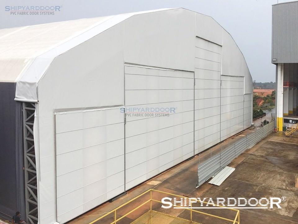 aircraft hangar door indonesia en shipyarddoor