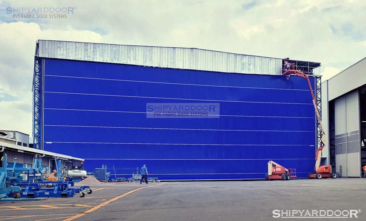 hangar door di17 en shipyarddoor