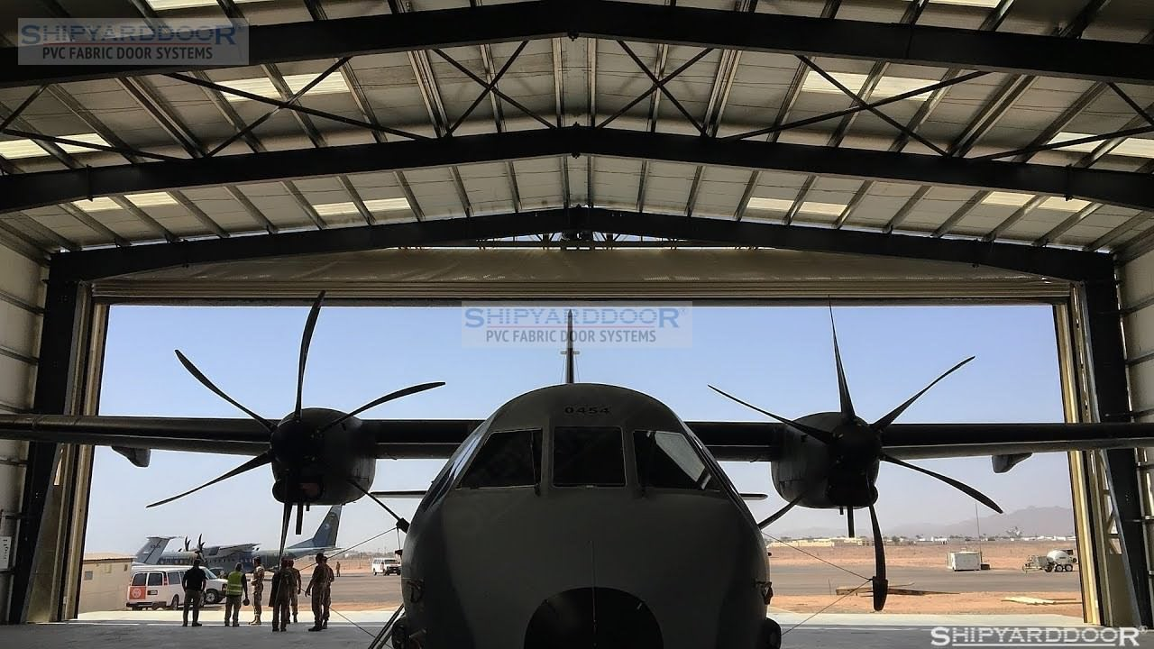 Militaryaircrafthangardoor en shipyarddoor f