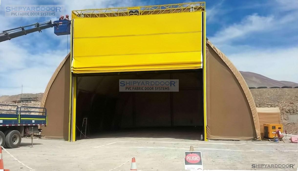 mine hangar door en shipyarddoor