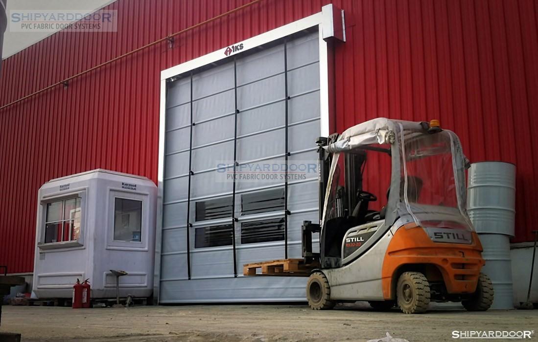 pvc fold up door en shipyarddoor