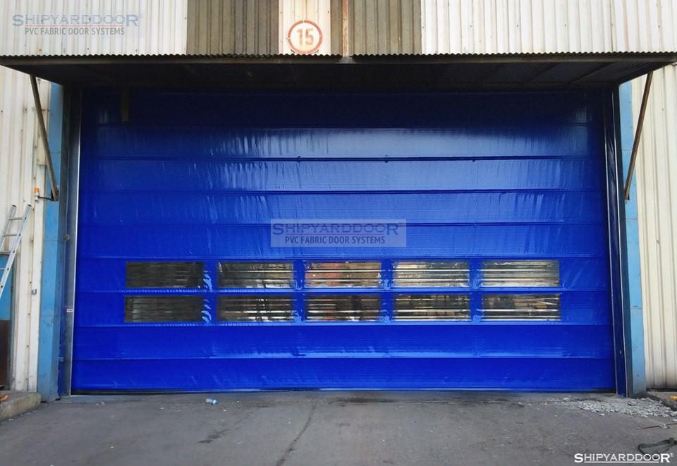 pvc wide door en shipyarddoor