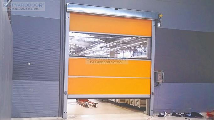 High speed doors en shipyarddoor m