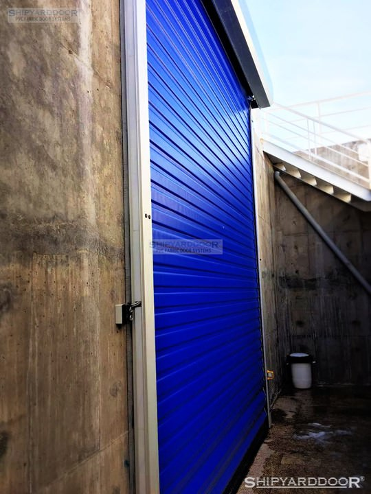 high speed durable door en shipyarddoor