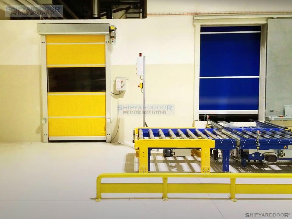 speed door test en shipyarddoor