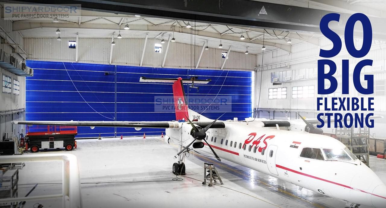 Aircraft hangar doors shipyarddoor f