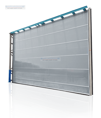 Aluflex hangar doors
