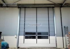 Pvc foldup door