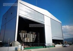 Shipyard door
