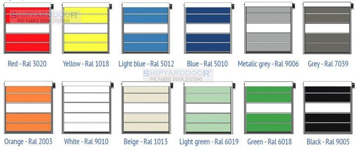 Pvc-Ral Colours