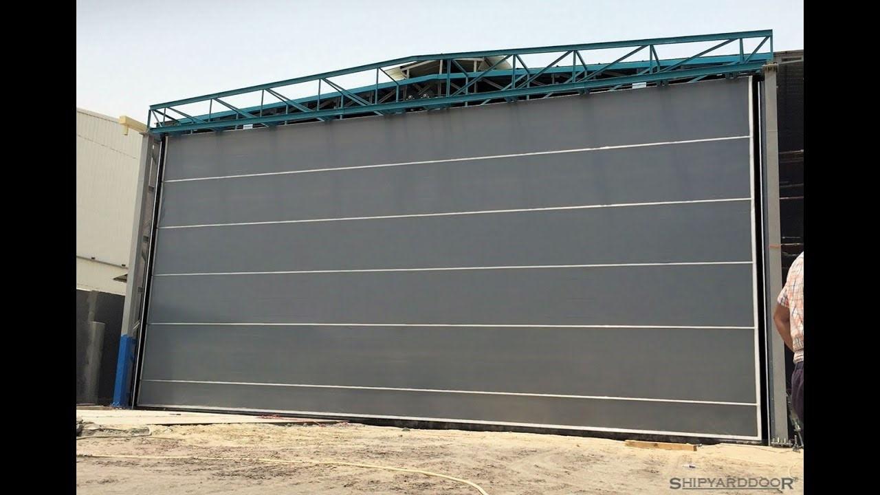 Aluflex hangar door th f