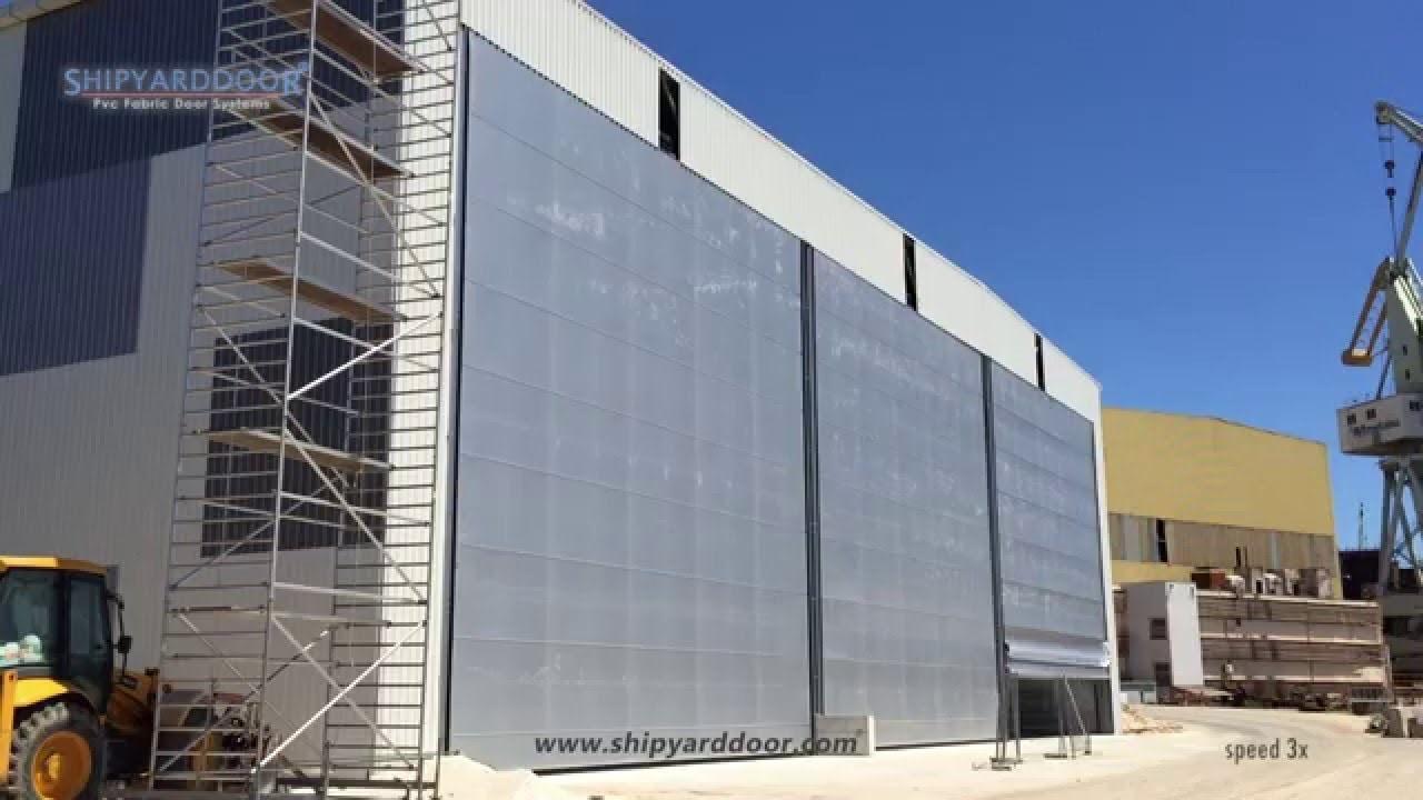Large hangar door mrn f